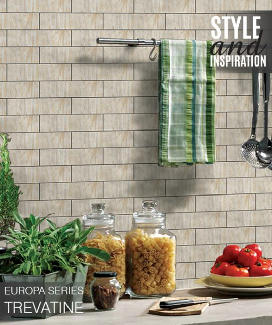 Digital Ceramic Wall Tiles Europa Series Trevatine