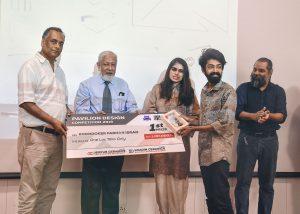 Pavilion Design Competition at UAP for Khadim Ceramics