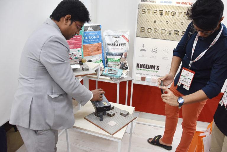 Khadim Ceramics venue at Ceramic Expo 2019